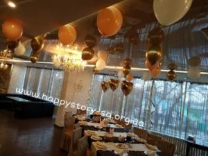 Доставка гелиевых шаров на свадьбу