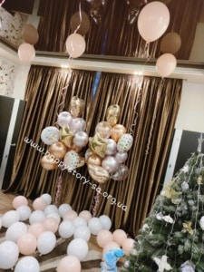 Гелиевые шары для встречи мамы и ребеночка из роддома