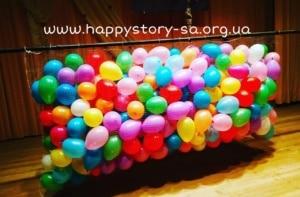 Сброс воздушных шаров (500 шт)