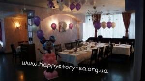 """Воздушные шары на детский праздник в кафе """"Арлекин"""". г. Макеевка"""