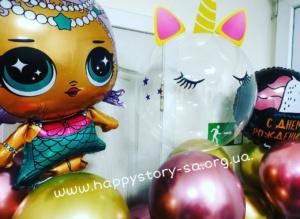 Гелиевые шары на детский праздник