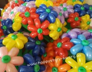 Букеты из воздушных шаров на праздник