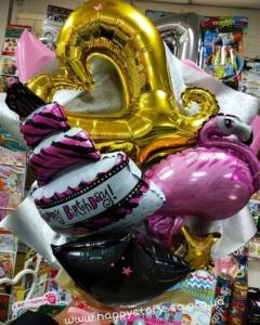 Букеты из шаров (галерея) (16)