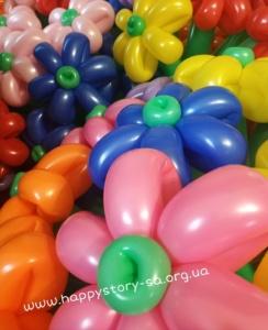 Букеты из шаров (галерея) (19)