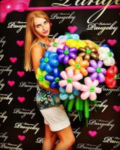 Букеты из шаров (галерея) (25)