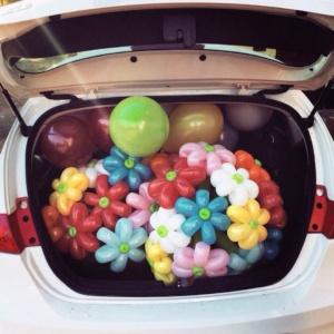Букеты из шаров (галерея) (27)