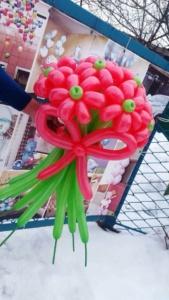 Букеты из шаров (галерея) (28)