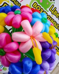 Букеты из шаров (галерея) (35)
