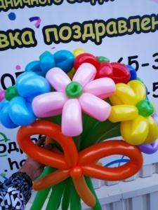 Букеты из шаров (галерея) (39)